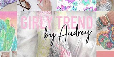 girly trend portfolio banner on Zazzle mobile