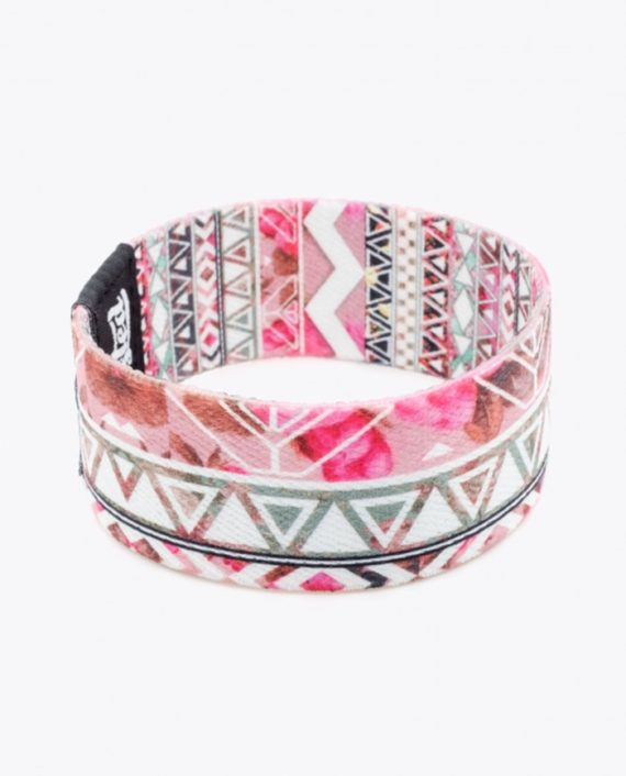 floral aztec pattern by girly trend back