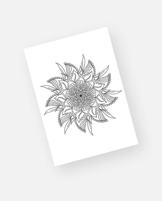 Floral mandala preview 5