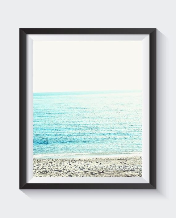 modern sand beach blue sea photography close up