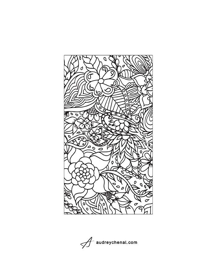 Iphone 4 coloring pages ~ Printable DIY Coloring iPhone design templates Instant ...