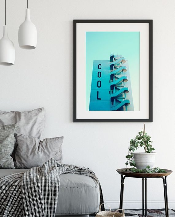 Cool typography building architecture photography printable wall art