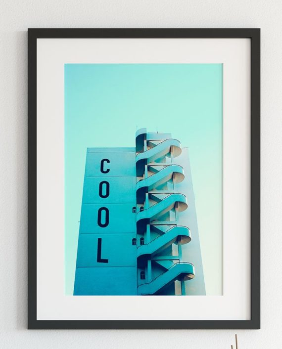 Cool typography building architecture photography printable wall art close up