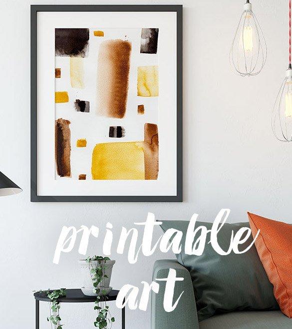 printable abstract art