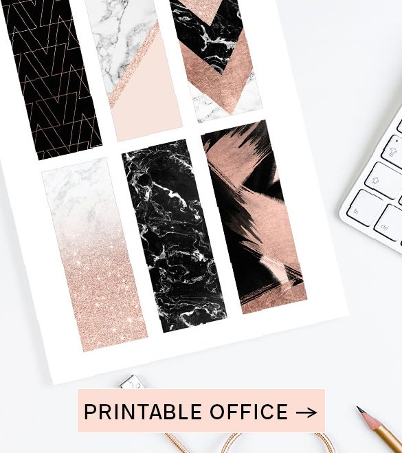 PRINTABLE OFFICE SUPPLIES