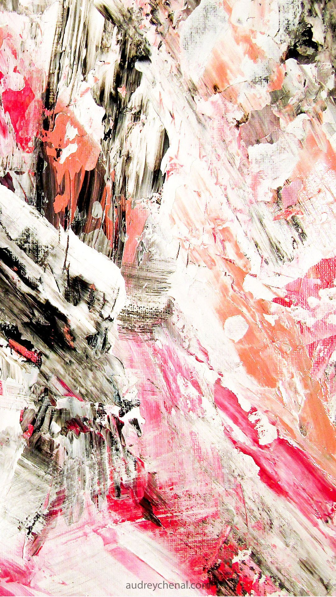 candy pink coral acrylic wallpaper background by Audreychenal web