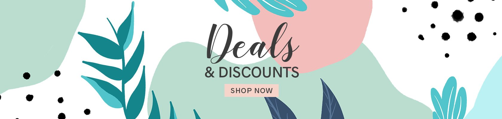 deals and discount Banner website