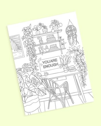coloring pages interior design dreamcatcher preview