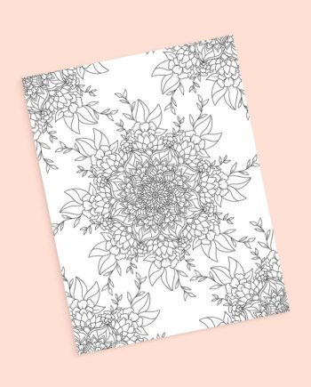 preview mandala coloring page