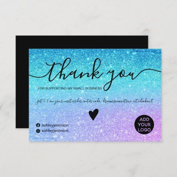 modern_mermaid_glitter_blue_purple_order_thank_you-